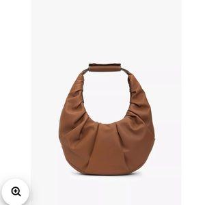 NEW Staud Soft Moon Bag Brown Kendall Jenner Bag